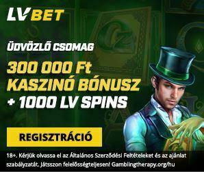 LV Bet Casino Üdvözlő csomag